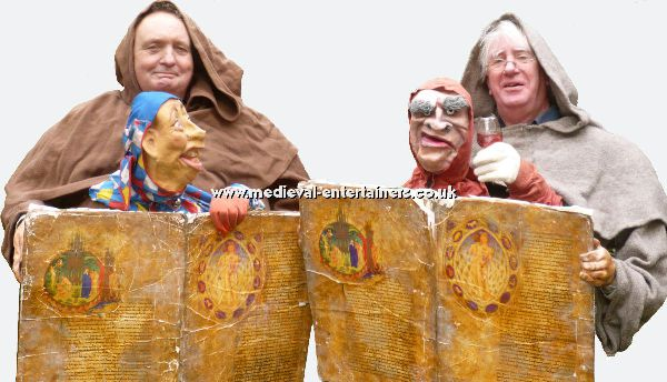 Medieval Themed Puppet Acts